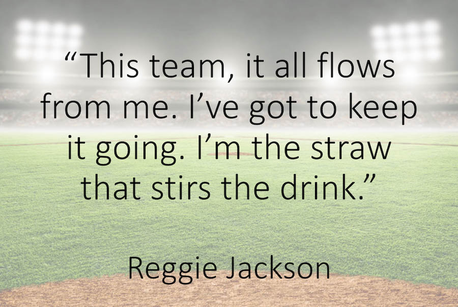 The Straw That Stirs the Drink